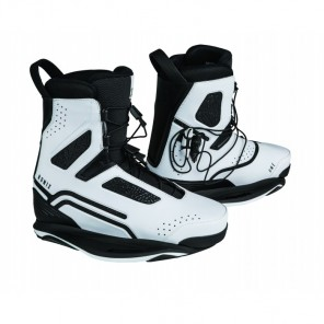 Boots wakeboard Ronix One Intuition+ Metallic White - legaturi wakeboard