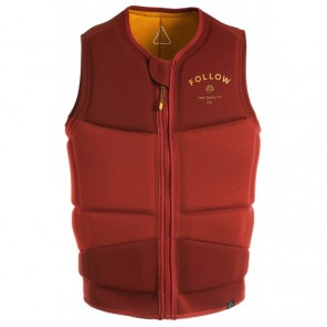 Vesta wakeboard Follow Coastline Impact Vest - Wine - 2020