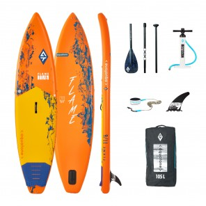 SUP Aquatone Flame 2020 Stand Up Paddle Gonflabil 11'6""
